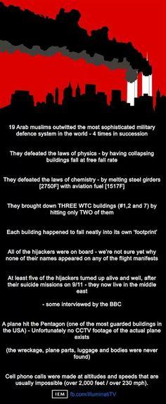 9/11 lies. madness.