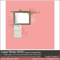 Layer Works No. 060- Studio Double-D Templates- LT622919- DesignerDigitals
