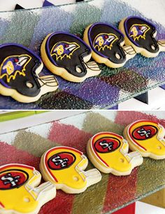 Have cookies made of all NFL Teams Football Trophies, Football Themes, Football Snacks, Football Humor, Football Shirts, Football Banquet, Football Cookies, All Nfl Teams, Sports Party