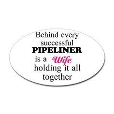 4d9559f1b Pipeline Wife Sticker (Oval) $2.99 @ Cafe Press White Vinyl, Welding  Projects,