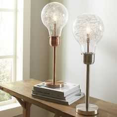 How cool are these Edison-inspired lamps!