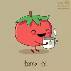 Spanish jokes for kids, chistes para niños: tomate vs. Spanish Puns, Funny Spanish Memes, Funny Memes, Puns Hilarious, Spanish Sentences, Gato Do Face, Class Memes, Cute Jokes, Teaching Spanish