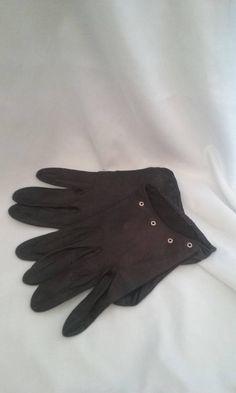 Vintage Ladies Leather Gloves/Womens Accessories/Retro/Steam Punk/Dress/Formal Wear/ Attire/Evening/Eco Friendly/Summe/Spring/Gift Idea