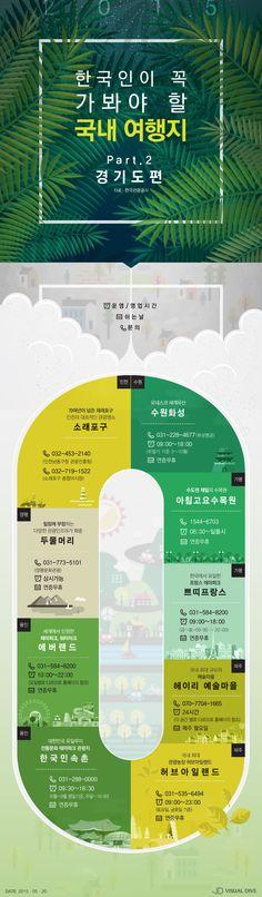 5월, 이곳을 놓칠 순 없다!…'꼭 가봐야 할 국내 관광지 100선' (경기편) [인포그래픽] #travel / #Infographic ⓒ…