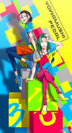 Toudou Jinpachi x Makishima Yuusuke Yowamushi Pedal, Otaku, Me Me Me Anime, Wall Papers, Anime Boys, Spider, Joker, Japanese, Manga