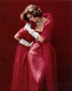Suzy Parker photo #Norman Norell