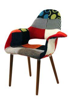Patchwork Conversation Chair