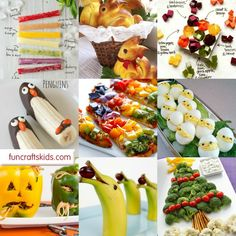 12 Fun & Healthy Food Ideas for Kids - check out these great healthy (ish) food ideas to make for the kids on special occassions