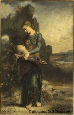 Orphée, en 1865, huile sur bois, H. 1.54 ; L. 0.995, Musée d'Orsay, Paris, France