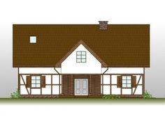 dom żuławski drewniany