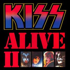 classic Kiss double album first pressing Kiss Alive II live recording LPs vinyl albums with cover sleeves collectors vinyl addicts record lovers from my private collection Kiss Album Covers, Rock Album Covers, Top 10 Albums, Great Albums, Lp Album, Black Sabbath, Extended Play, Kiss Alive Ii, Iron Maiden