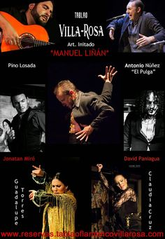 TABLAO VILLA ROSA: FLAMENCO MADRID: FLAMENCO MADRID: ARTISTAS EN VILLA-ROSA DEL 4 AL 1...