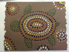 Great History lesson w/step by step directions for creating this dot painting. Australian Aboriginal Art Appreciation