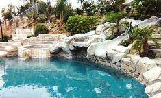 I want a rock slide pool