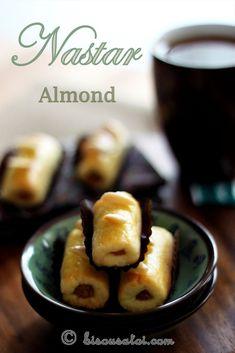 Bisous À Toi: Nastar Almond (Almond Pineapple Tarts)