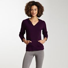 Lotus Hoodie Plum, $49, now featured on Fab.