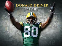 """""""Donald Driver has officially announced retirement. Driver has announced that his against-all-odds career has come to an end, with an official retirement ceremony slated for next Wednesday, Feb. 6, in the Lambeau Field Atrium. He retires as one of the most beloved players in franchise history, for a number of reasons – his infectious smile, his humble upbringing and his countless contributions to the community, to name just a few."""" JSonline"""