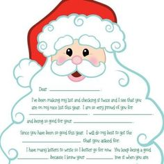 """Search Results for """"Free Printable Letters From Santa"""" – Template 2019 Free Printable Santa Letters, Free Letters From Santa, Santa Letter Template, Free Printables, Letter Templates, Christmas Projects, Winter Christmas, Christmas Holidays, Christmas Ideas"""