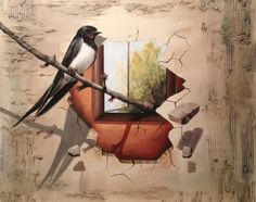 "Saatchi Art Artist Eka Peradze; Painting, ""free love. 3D Painting"" #art"