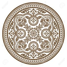ornament circle vector - Pesquisa Google