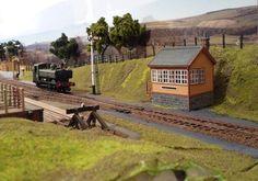 Diorama, Model Train Layouts, Models, Model Trains, Ho Scale, Landscape, World, House Styles, Hobbies