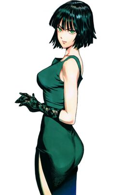 Fubuki Tatsumaki from one punch man