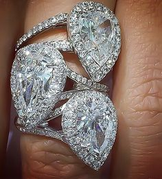 Engagement rings at Nader jewelry