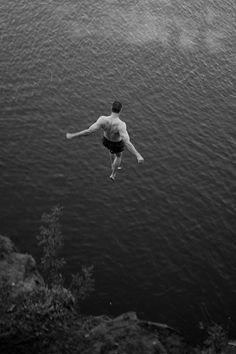 let's go cliff diving