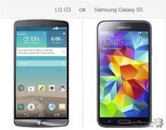 LG G3, 해외 사용자들의 평가는? 갤럭시S5, 엑스페리아 Z2등과 비교 투표 붕어IQ의 세상사는 이야기