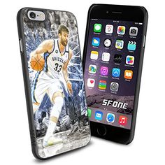 """Marc Gasol All Star NBA iPhone 6 4.7"""" Case Cover Protector for iPhone 6 TPU Rubber Case SHUMMA http://www.amazon.com/dp/B00WJD48SQ/ref=cm_sw_r_pi_dp_PTmovb1AD0ZB2"""