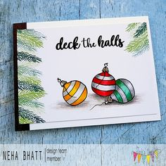 Periwinkle Creations: Deck the halls