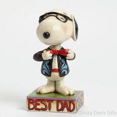 New JIM SHORE PEANUTS Snoopy Figurine BASEBALL PLAYER PUPPY DOG Statue FOLK ART