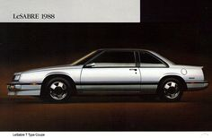 1988 Buick LeSabre T-Type Coupe ♥♥♥
