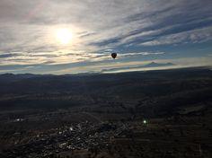 Huamantla víaje en globo amanecer