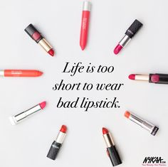 Tell us which lippie you turn to when you're in need of an instant pick-me-up ☺️ #GameChanger #Nykaa