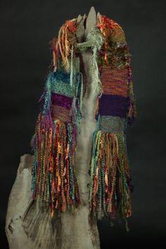Gypsy Dancer Handwoven Art Scarf