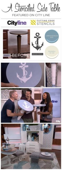 Cutting Edge Stencils Spotted on CityTV's CityLine With Colin & Justin