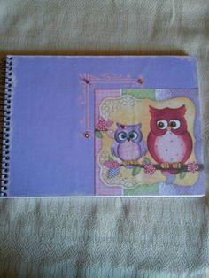 Capa caderno de desenho