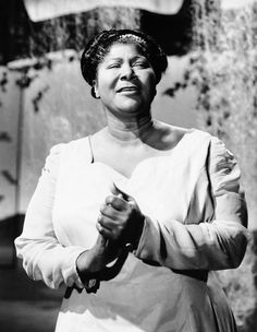 """October 26, 1911 Mahalia Jackson was born in New Orleans, Louisiana. Known as the """"Gospel Queen,"""" Jackson, being raised in the church, and being part of the choir, she became instrumental in the popularization of gospel music and songs."""