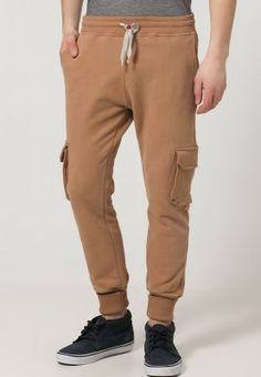 Sweet Pants CARGO TERRY - Pantalon de survêtement - tobaco - ZALANDO.FR