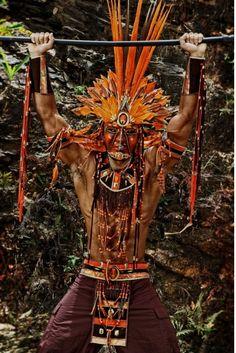 Men's make costume Trinidad carnival