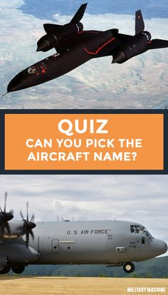 Think you know a thing or two about military aircraft? This is the quiz for you! You'll be challenged on transport aircraft, combat jets, helicopters and stealth aircraft and bombers. Do you're best to select the right aircraft based on image and see what you've got!  #military #militaryaircraft #aviation #jets #planes #quiz #quizzes