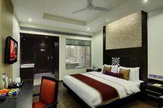 Executive Deluxe room of Hotel Godwin deluxe in Paharganj New Delhi #delhihotels http://www.godwindeluxe.com
