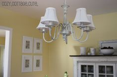 Cozy.Cottage.Cute.: Dining Room Progress - A Sorta Before and After