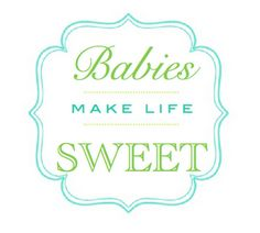 Free printable labels perfect for a baby shower