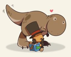 Dinosaurs 101 by zillabean on deviantART