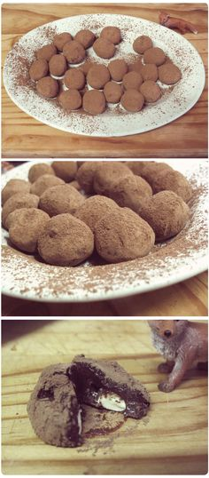 Chocolate truffles-these look like trader joe's version