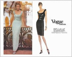 Vogue 1966 Sewing Pattern  Bellville by EightMileVintageSews
