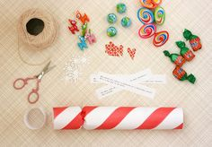 Handmade Holidays: make your own holiday crackers