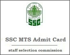 SSC MTS Admit Card 2017 Exam Date, Candidate download online SSC MTS Exam Hall Tickets at ssc.nic.in, SSC Multitasking Exam Date, MTS Non Technical Call letter.